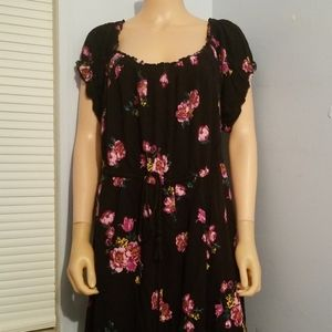 ❄TORRID FLORAL DRESS 4XL